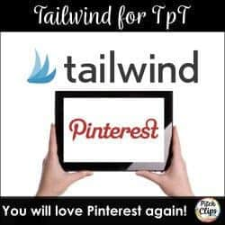 Are you a teachers pay teachers seller looking to drive traffic to your blog and/or website? Look to Tailwind! It will change your game! #pitchclips